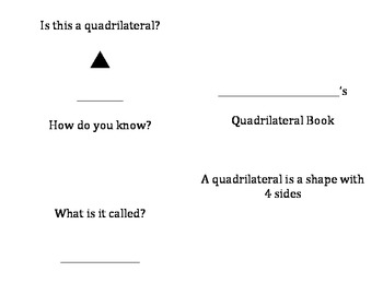 Quadrilateral Book