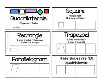 Quadrilateral Booklet