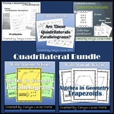 Quadrilateral Bundle~5 Activities~Is it a Parallelogram~Walk Around~Trapezoid