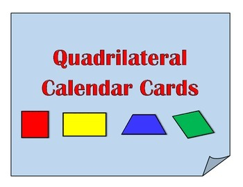 Quadrilateral Calendar Cards