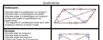 Quadrilateral Characteristics