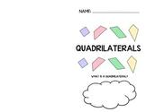 Quadrilateral Classification Booklet