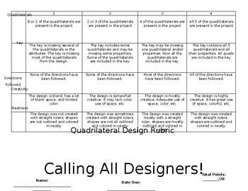 Quadrilateral Design Project