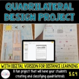 Quadrilateral Design Project {5th Grade Geometry}