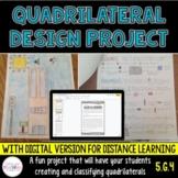 Quadrilateral Design Project - 5th Grade Geometry