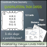 Quadrilateral Detective Task Cards:Is It a Parallelogram Activity