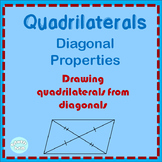 Quadrilateral Diagonal Properties and Measurement