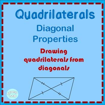 Quadrilateral Diagonal Properties and Measurement