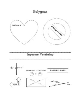 Quadrilateral Doodle Notes
