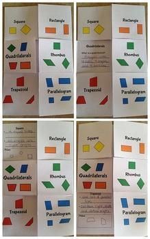 Quadrilateral Flip Book
