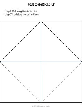Quadrilateral Fold-up (rhombus, trapezoid, parallelogram, kite)