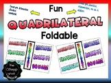 Quadrilateral Foldable