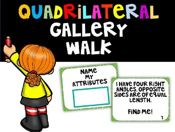 Quadrilateral Gallery Walk