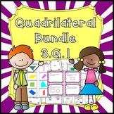 Quadrilateral - Geometry Bundle Common Core 3.G.1