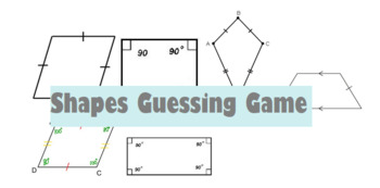 Quadrilateral Guessing Game