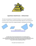 Quadrilateral Identification - Differentiated