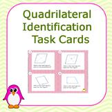 Quadrilateral Identification Task Card Set