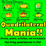 Classifying Quadrilaterals: Properties, Attributes, and Relationships in Rhyme