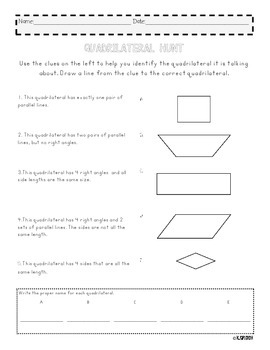 Quadrilateral Matching