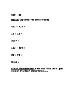 Quadrilateral, Polygon, and Place Value Homework Packet