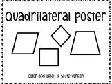 Quadrilateral Poster
