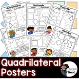 Quadrilateral Posters (Display vocabulary with examples and non examples)
