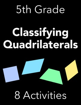 Quadrilateral Properties - GREAT FOR SUMMER!