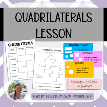 Quadrilateral Properties & Hierarchy Notes