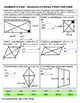 Quadrilateral Properties - Zombie Coloring Page