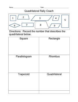 Quadrilateral Rally Coach