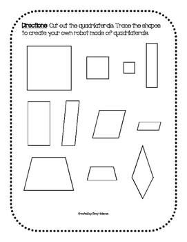 Quadrilateral Robot Activity