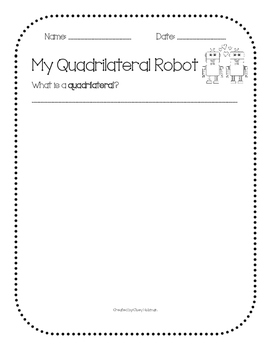 Quadrilateral Robot Activity