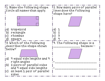 Quadrilateral SCOOT and Assessment
