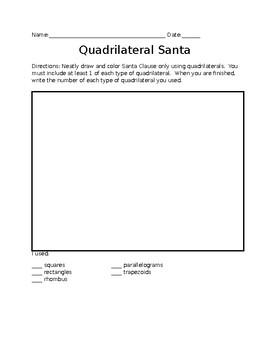 Quadrilateral Santa