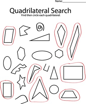 Quadrilateral Search