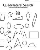 Quadrilateral Search