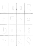 Quadrilateral Sorting Game or Center