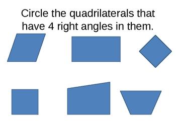 Quadrilateral: Square or Rectangle
