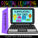 Quadrilateral Task Cards {Rigorous ~ High Level ~ Engaging