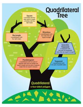 "Quadrilateral Tree- 18"" x 23"""