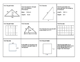 Quadrilateral/Triangle Flashcards