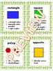 Quadrilateral Vocabulary FREEBIE