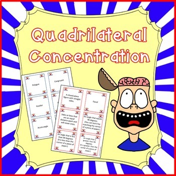 Quadrilateral Concentration - 3.G.1
