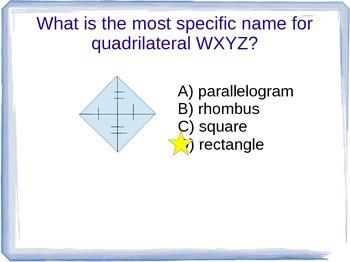 Quadrilateral review presentation