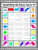 Geometry Games: 10 Differentiated Quadrilaterals Games {3.G.1, 5.G.3, 5.G.4}