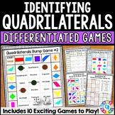 Classifying Quadrilaterals Geometry Games {3.G.1, 4.G.2, 5.G.3, 5.G.4}
