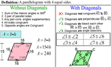 Quadrilaterals, 3 References + 10 Assignments for on PDF