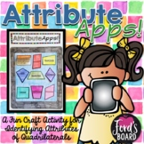 Classifying Quadrilaterals Activity | Attribute Apps