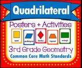 Quadrilaterals, Common Core Geometry, Math Set