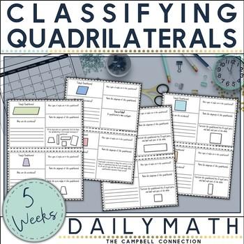 Quadrilaterals Daily Math